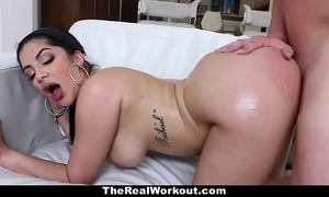 Teamskeet - sexy cuban honey copulates trainer