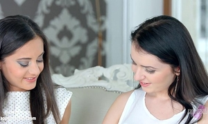 First time by sapphic erotica - kittina cox and shrima malati lesbian babes