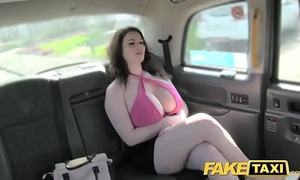 Fake taxi fine large mambos acquire drilled and sucked