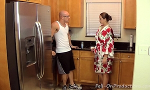 [taboo passions] son get's naughty with mommy madisin lee in got to workout