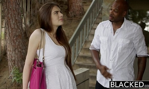 Blacked 1st interracial for gorgeous gf zoe wood