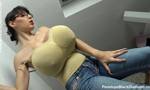 Penelope dark diamond - milking bazookas - breastfeeding love bubbles preview