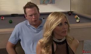 Sexy golden-haired undress slutwife trio alexis texas and julia ann