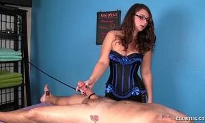Cock massage torture