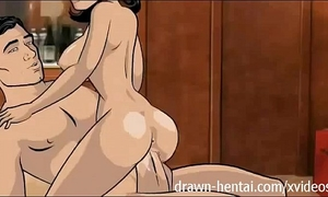 Archer manga - room service