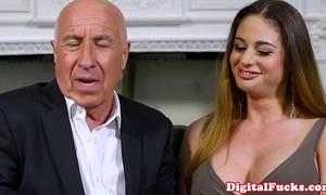 Gorgeous latin babe voyeur joins fuck