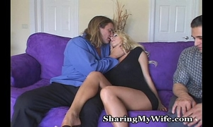 Sissy hubby shares hawt Married slut