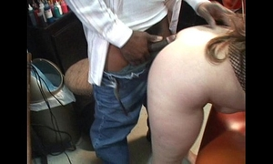 Tiny breasty milf takes dark shlong throat and vagina cougar sucks her spouse