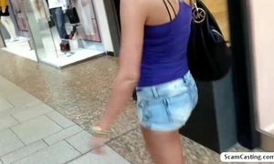 Beautiful sexy golden-haired yenna shows her lovely couple of pantoons for a large bucks of money