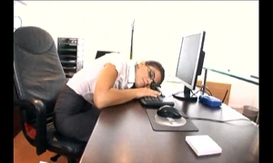 Nerdy secretary screwed prevalent stocking increased by a laurel