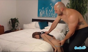 Jmac acquires oral-job anal and doggie from real doll before cumming in her butt