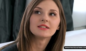 Amateur alice acquires her a-hole screwed on the casting