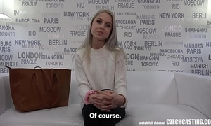 The 1st virgin in czech casting history