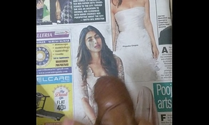 Oily dick cum tribute to Pooja Hegde