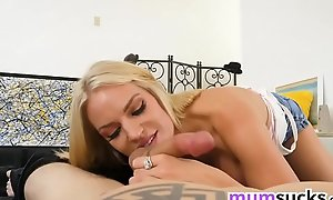 Stunning MOM giving amazing titjob - Rachael Cavalli