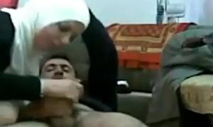 My Arab Secretary In Hijab Fucks For Her Salary