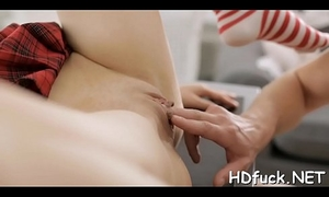 Luscious hottie exposes her tight holes for deep fucking