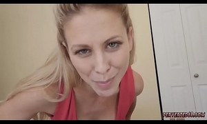 Smelling mom panties and young partners Cherie Deville in Impregnated