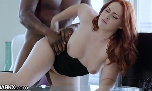 Darkx curvy redhead fucked unconnected with governance bbc beg for susceptible chifferobe