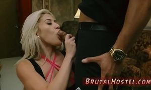 Rough anal gangbang and order of the day sex Big-breasted light-haired cutie