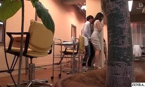 JAV Loss-leader Parlour Mizuna Wakatsuki risky lovemaking Subtitled
