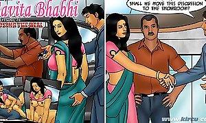 Savita Bhabhi Episode 76 - Closing the Superintend