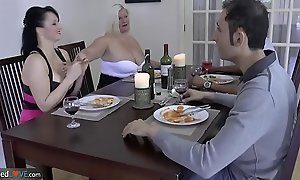 AgedLovE Outstanding Busty Matures Hardcore Groupsex