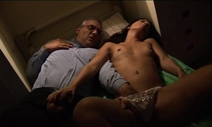 Young hotwife spied and groped by her uncle in her sleep