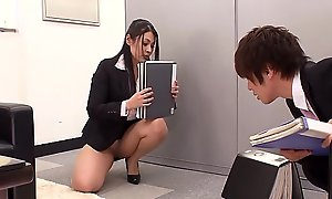 Fucking The Japanese Office Slut