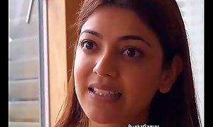 Kajal Agarwal cleavage