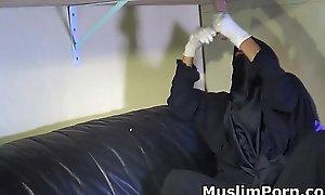 Muslim Allstars#1  Niqab Milking Table- Muslim Teen Creampie- Muslim Teen Blowjob- MuslimPorn.com