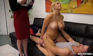 Vanessa Cage in the air Step daughter gets fuck by daddy