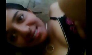 Desi girl having sex in room