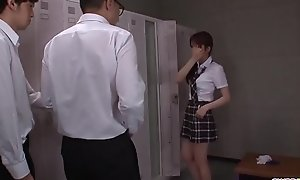 Moe Sakura does blowjob and fucks elbow school  - More elbow Slurpjp.com